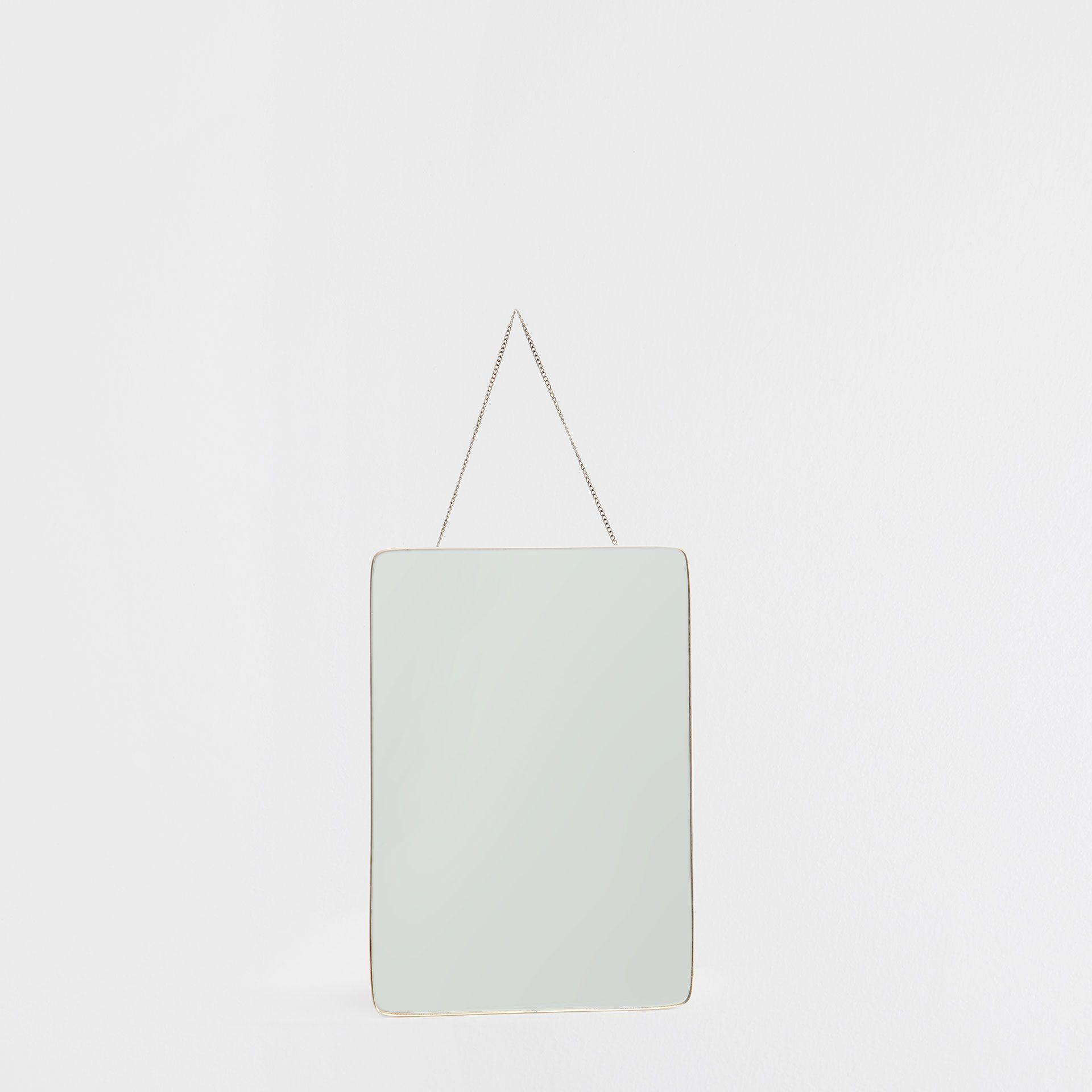 spiegel mit metallic rand zara home deutschland g stebad pinterest. Black Bedroom Furniture Sets. Home Design Ideas