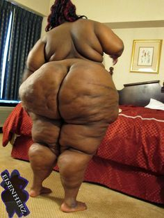 Black ssbbw with a fat ass