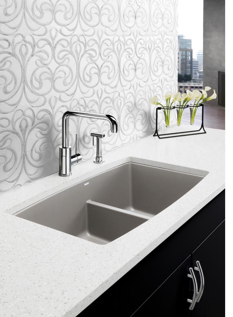 Blanco Performa U 1 3/4 Silgranit sink in Truffle Ikea
