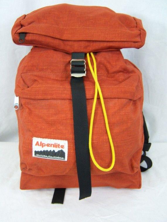 1970s Alpenlite backpack | Backpacks | Pinterest | Backpacks, 1970s ...