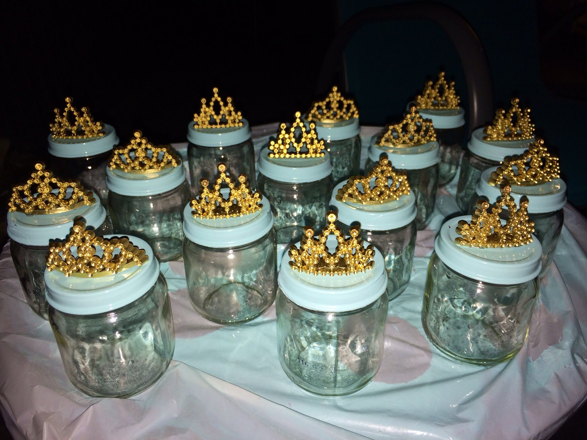 Little prince themed baby shower party favors