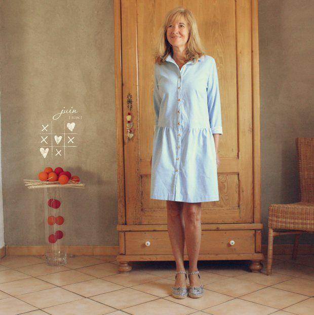 aime comme mythique modifi en robe avec tuto aime comme. Black Bedroom Furniture Sets. Home Design Ideas