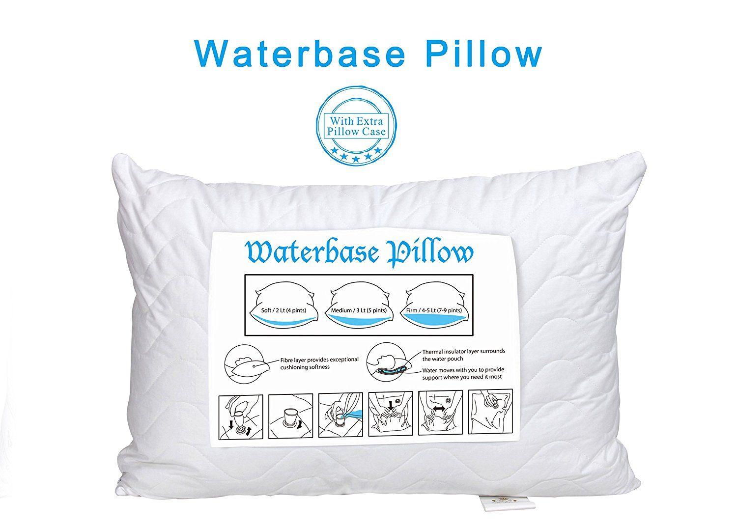 Pillow Cases Water Pillow Waterbase