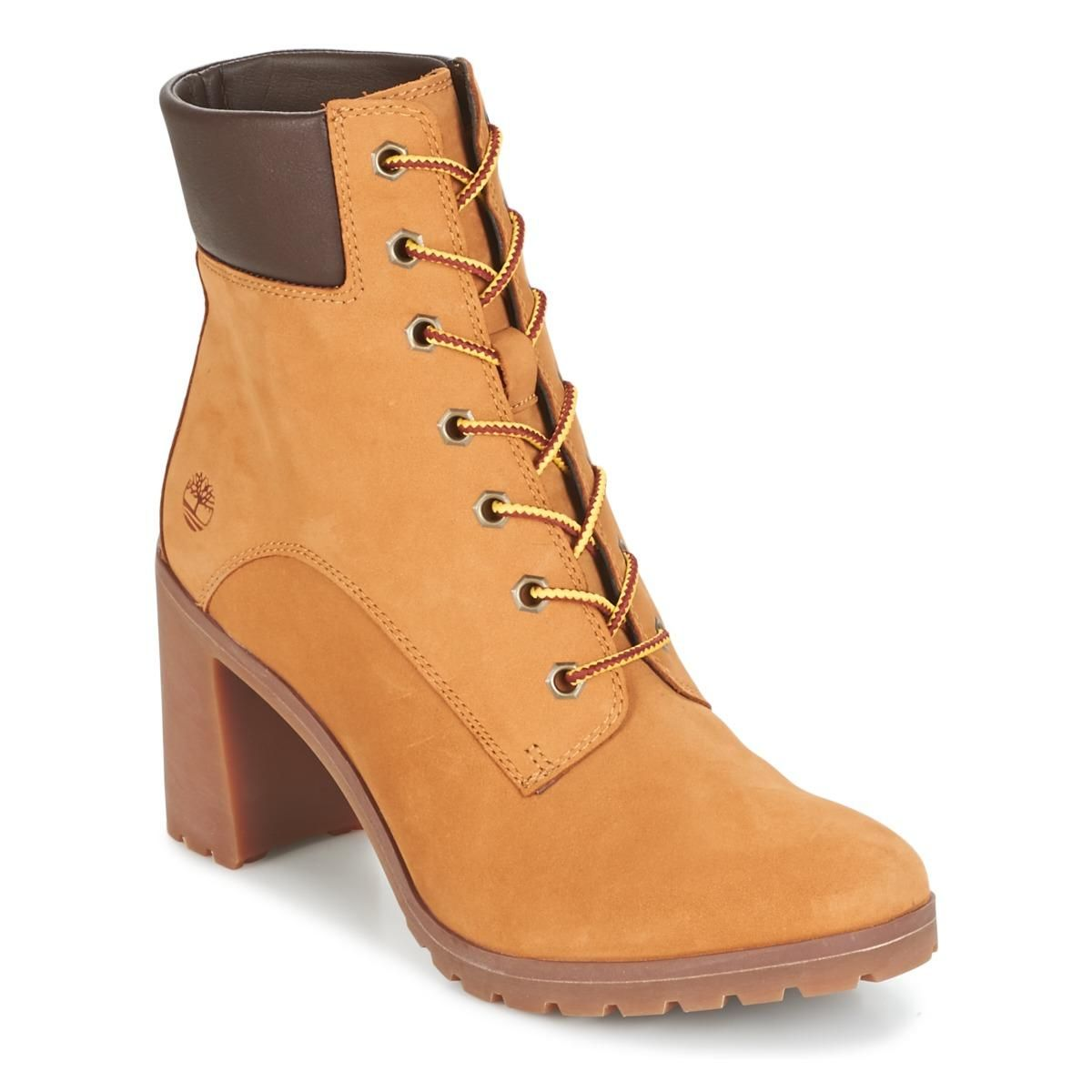4547f4c6 Brown Women's Glancy 6-inch Heeled Boot - Wheat Nubuck in 2019 ...
