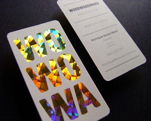 wowowa bc foil editorial print pinterest card printing