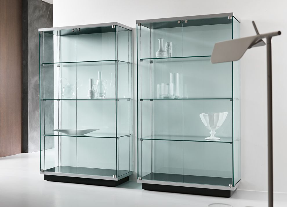 large glass cabinet for bar area Homes Pinterest Bar areas