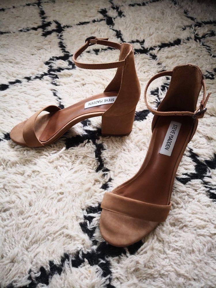 86b427db405 Steve Madden Irenee Sz 4.5 Camel Tan  fashion  clothing  shoes  accessories
