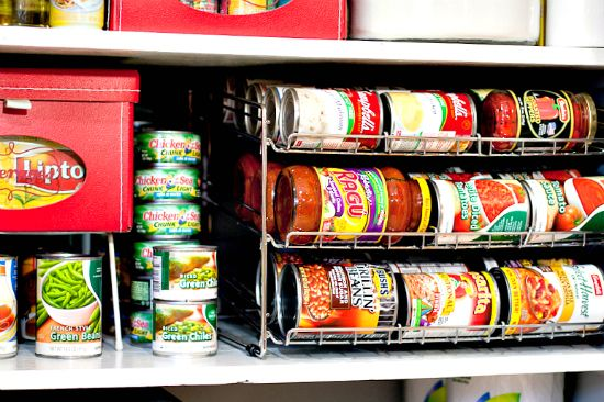 We have so many canned goods, that rack would be useful!