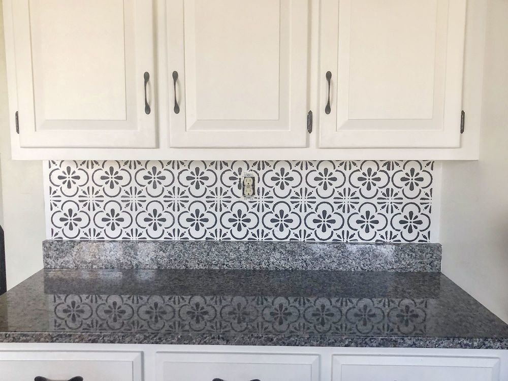 Kitchen Backsplash With White Cabinets Kitchen Tile Diy Faux Tiles Faux Brick Backsplash