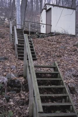 How to Build Steps on a Steep Hill Side