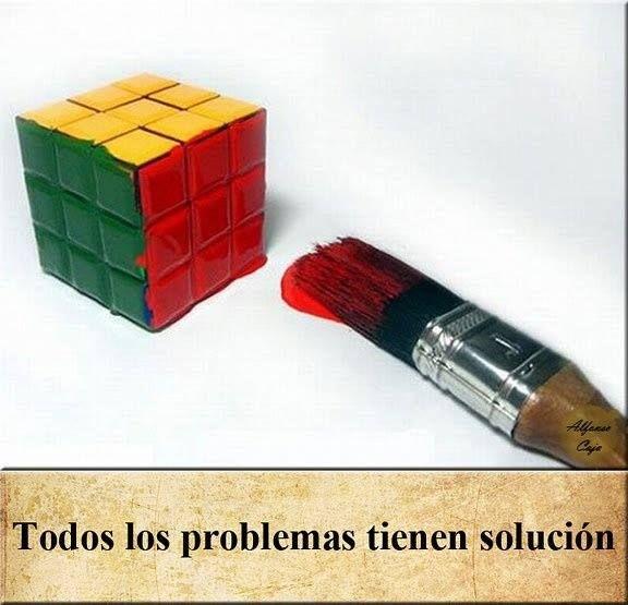 Y nos vamos marchando, por cierto, que hoy es el aniversario del cubo de Rubik, 40 añazos ya comiéndonos la cabeza, así que aprovecho para recordaros que todos los problemas tienen solución, solo hay que encontrar la brocha adecuada  que tengáis una buena noche!