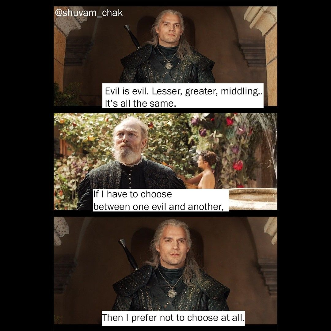 The Witcher Series Netflix Quotes Movie Quotes Quotes Netflix