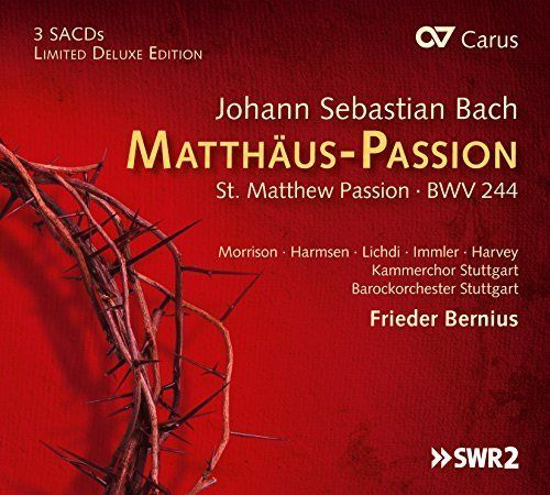Frieder Bernius - Bach: St. Matthew Passion