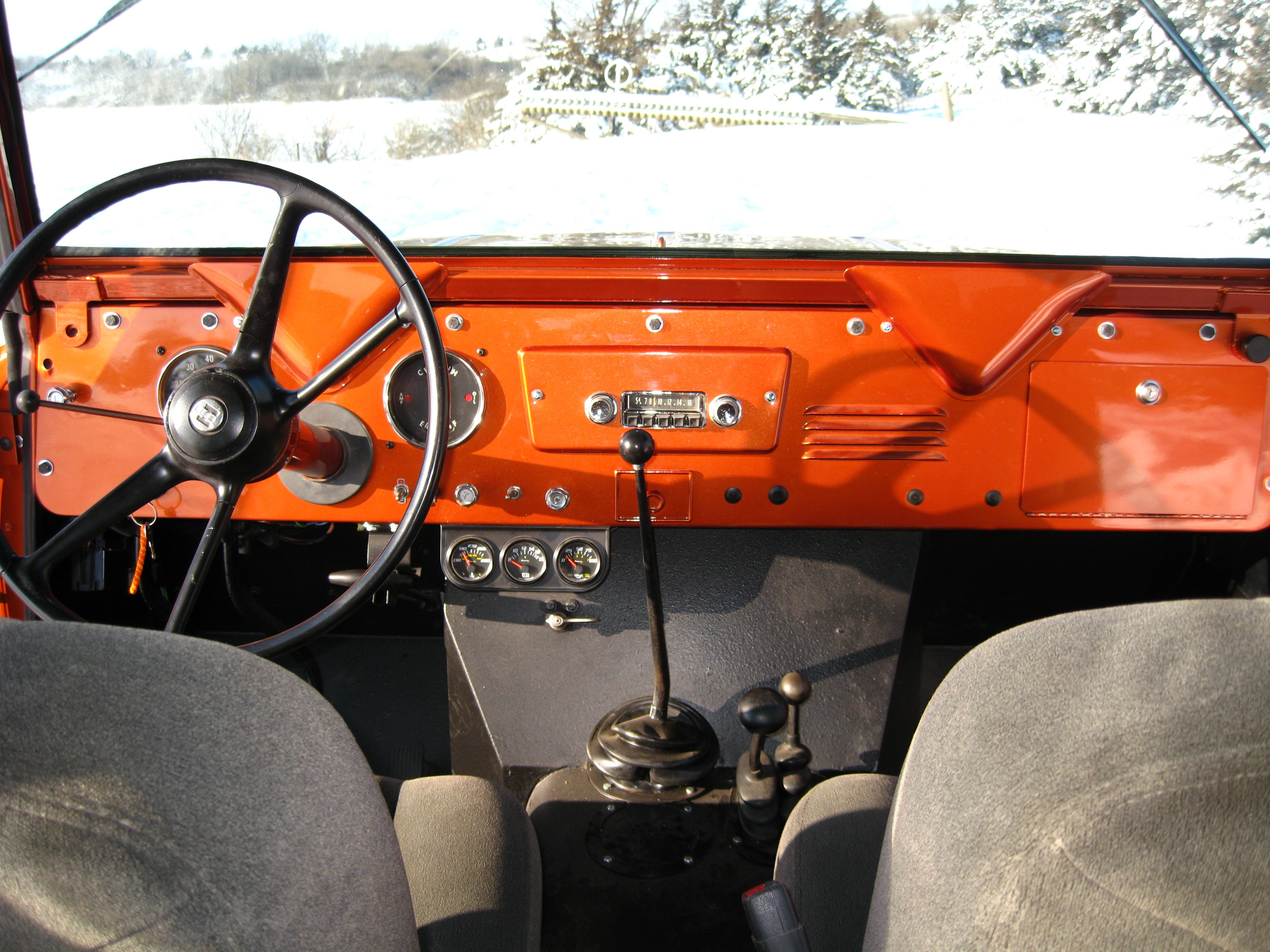 1963 Scout interior Maintenance/restoration of old/vintage vehicles: the  material for new