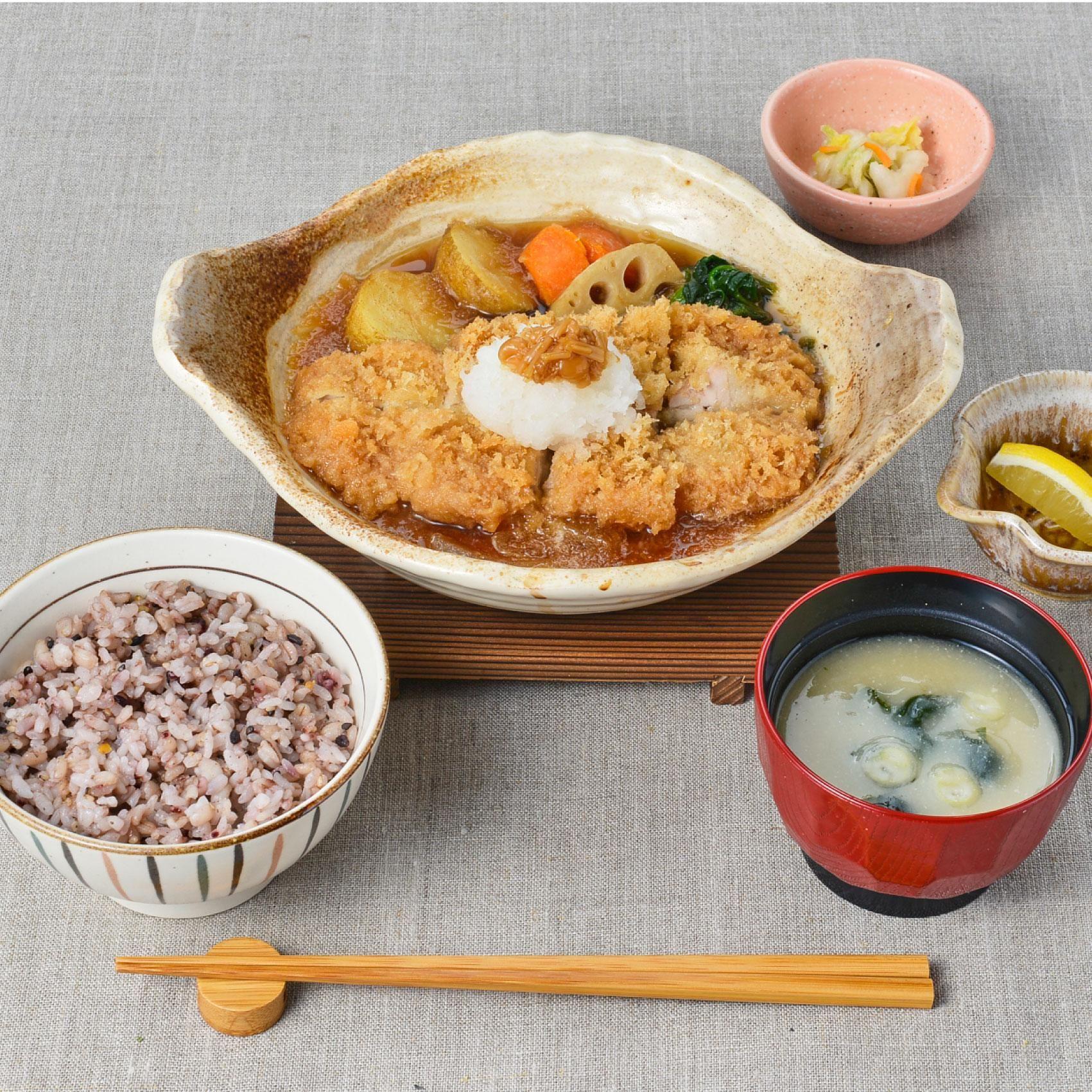 かあさん 大 煮 レシピ 戸屋 こってりおいしい味噌カツ煮 作り方・レシピ