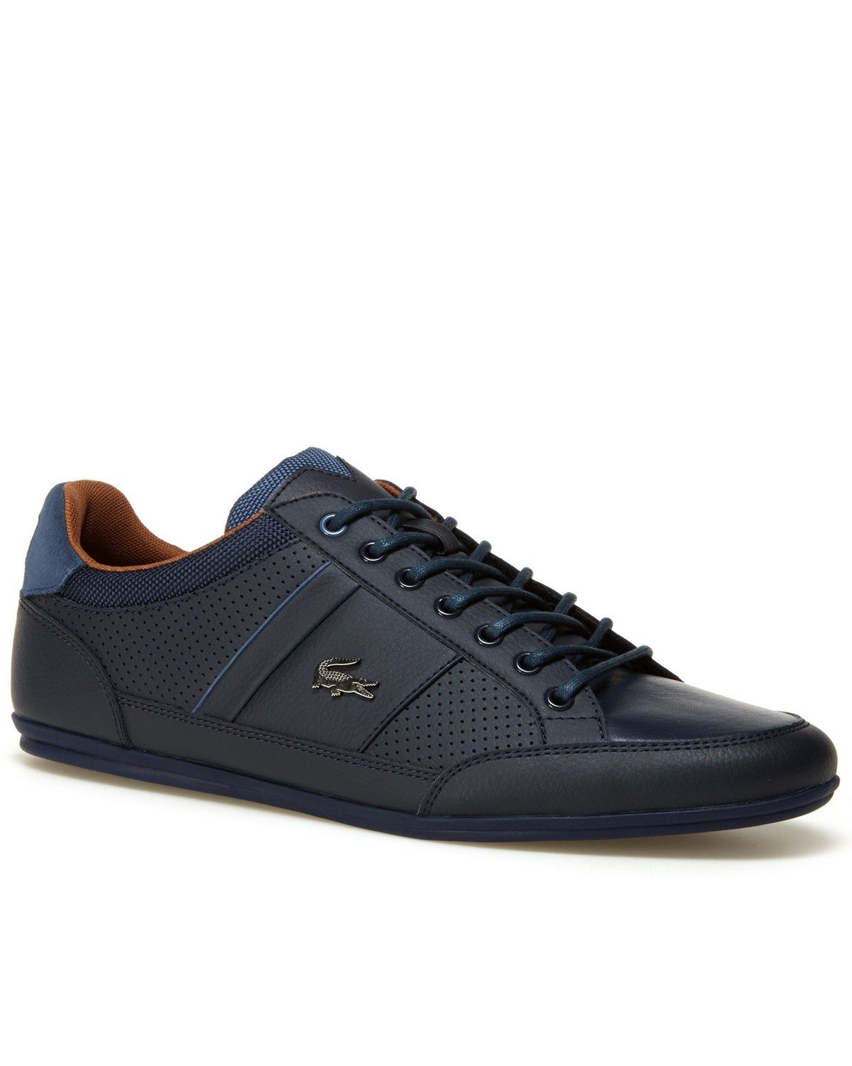 2368572e2ed77 LACOSTE © Navy Blue Shoes ✶ Chaymon
