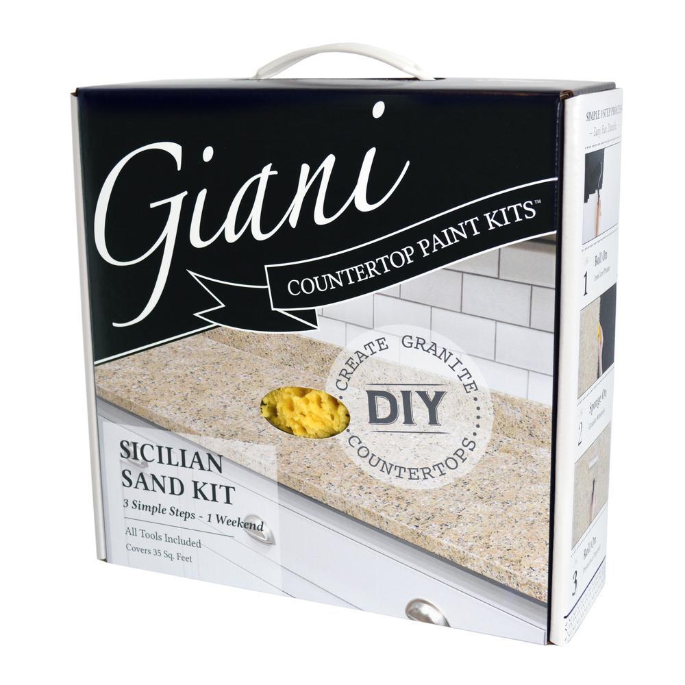 Giani Granite Sicilian Sand Countertop Paint Kit Fg Gi Sicilain