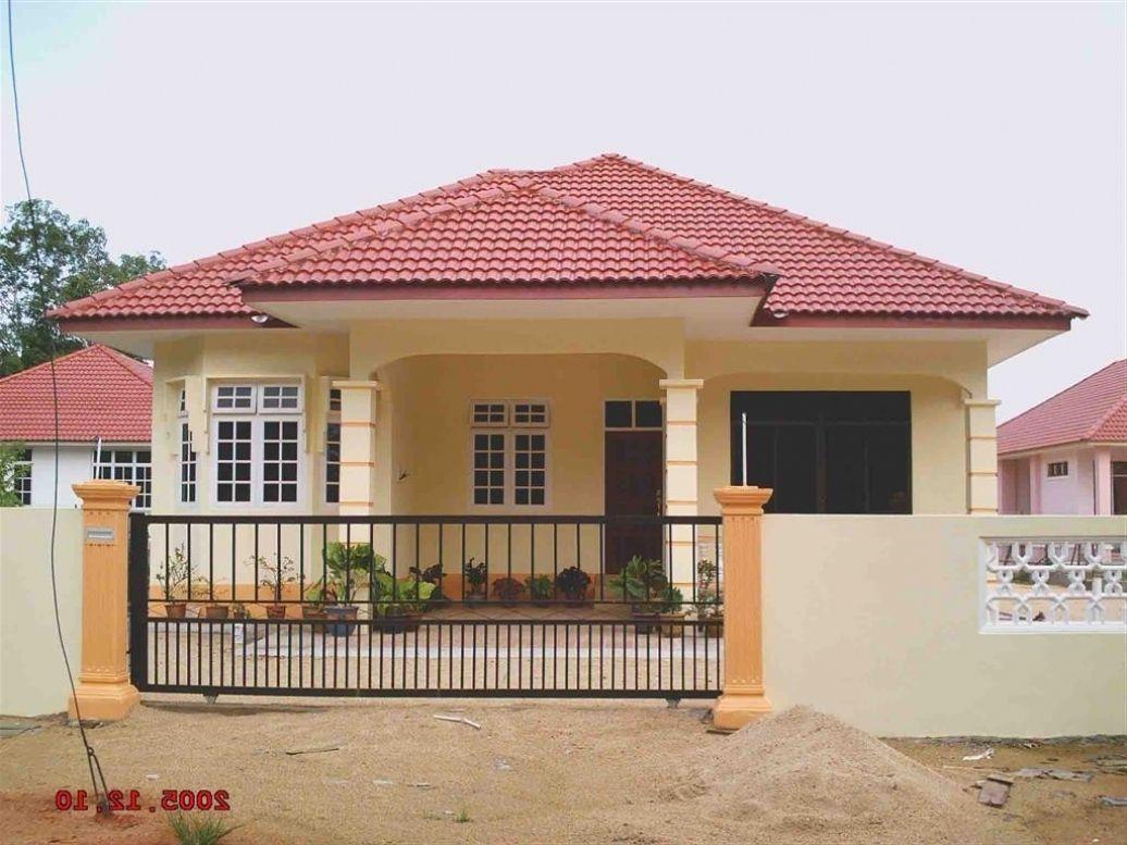 Rumah Banglo Di Kampung Modern House Wallpaper Keren 212