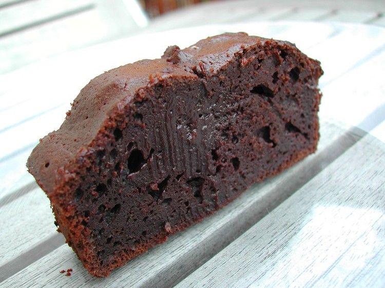 Gateau au chocolat fondant avec 4 oeufs