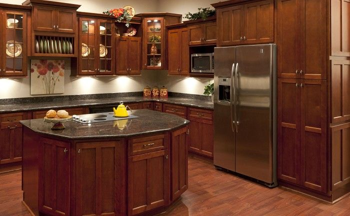 Good Faircrest Cabinets Shaker Cherry   Google Search
