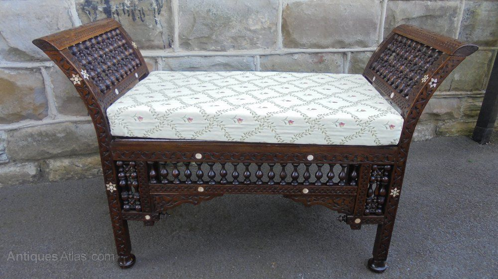 Islamic Moorish Window Seat Stool By Liberty Moorish Furniture Liberty Furniture