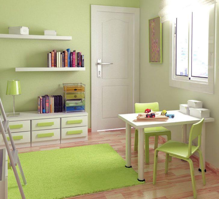 Cuarto infantil verde manzana o pistacho   Dormitorio verde ...