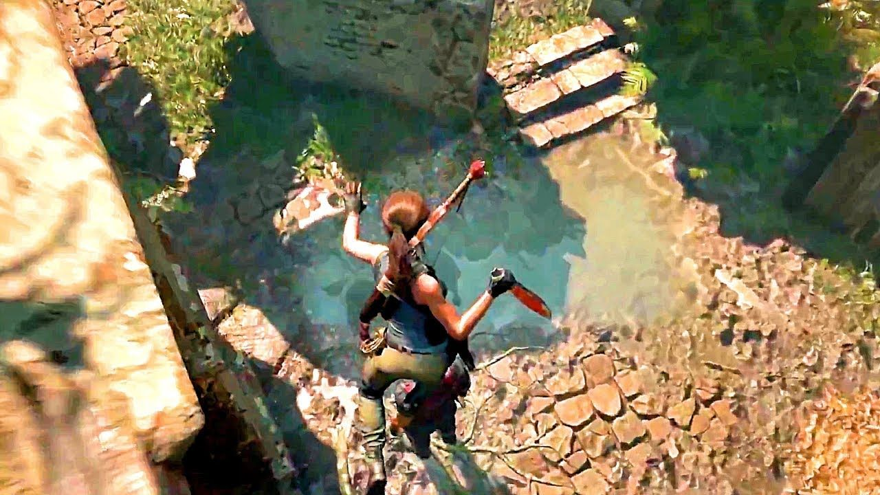 Shadow Of The Tomb Raider Takedowns Gameplay Trailer Ps4 Xbox