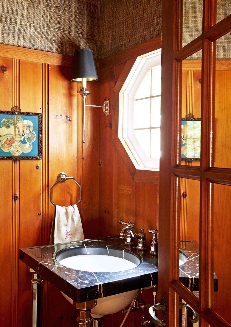 A Traditional, 100-Year-Old Lake House Reborn | Bathroom ... on living room with wall paint designs, nautical interior design, nautical doors, nautical hardware, nautical decoration, nautical photography, nautical quotes, nautical terms, nautical style, nautical life, nautical home, nautical decor office, nautical landscape design, nautical cabinets, nautical graphics, nautical showers, nautical garden, nautical mirrors, nautical theme, nautical fashion,
