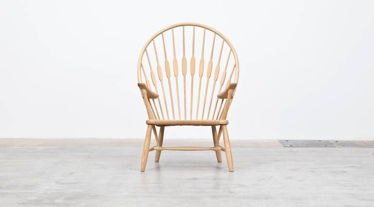 Hans wegner peacock chair from a unique collection of