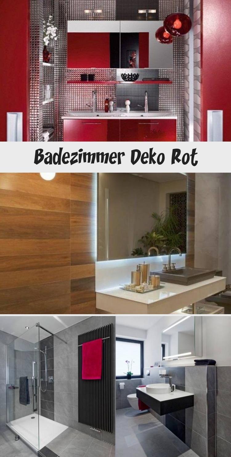 Badezimmer Deko Rot In 2020