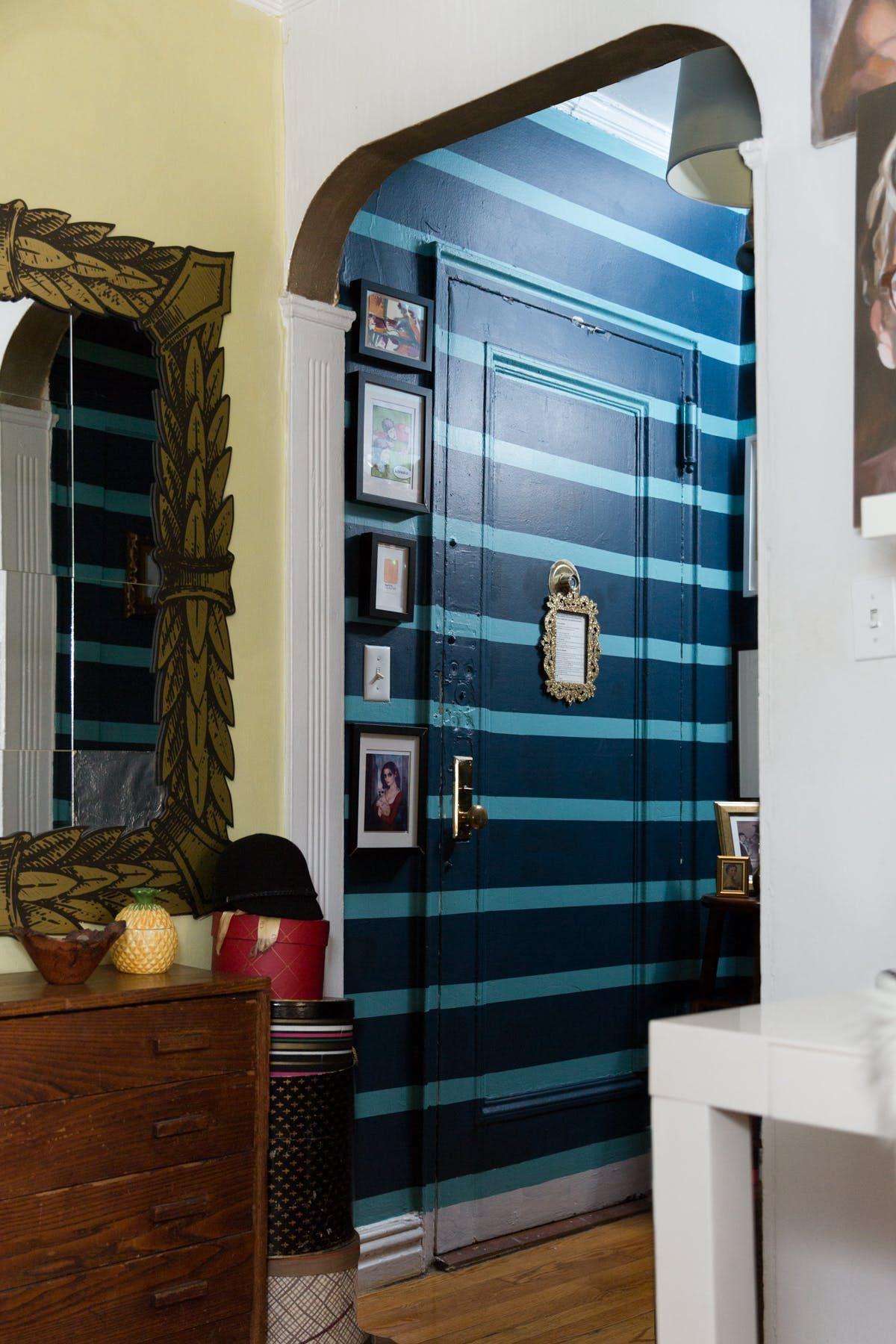 A Tiny 300 Square Foot Studio Apartment Is A Jewel Box Home New York Studio Apartment Studio Apartment