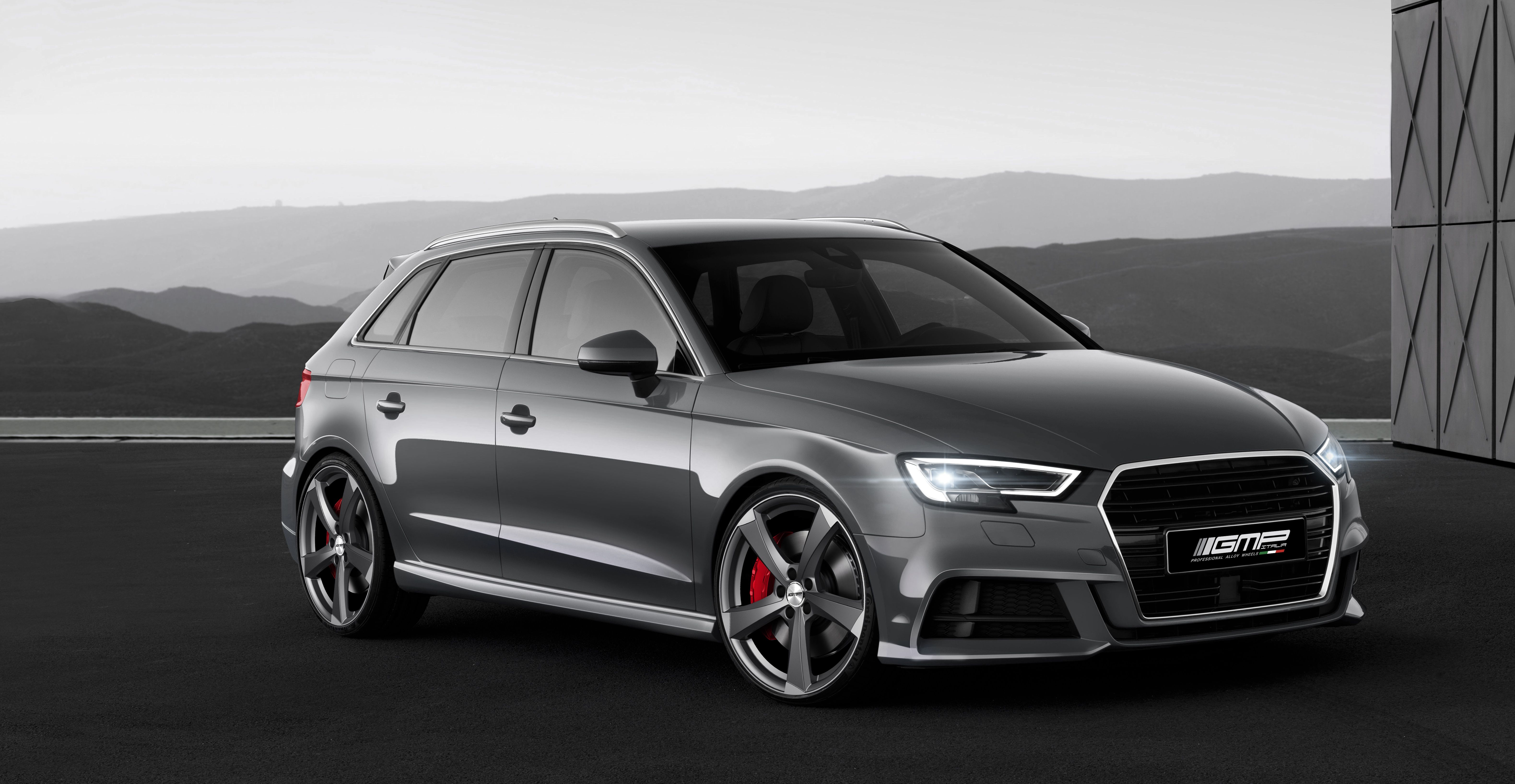 Audi A3 Sportback With Ican Matt Anthracite Diamond Professional