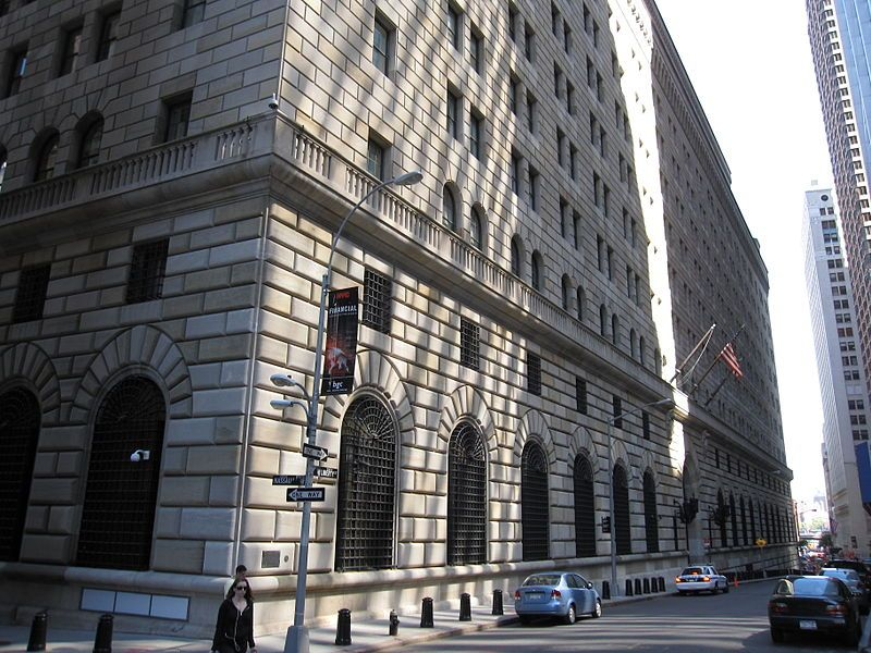 Federal Reserve Bank Of New York Reserve At Least A Week Ahead To