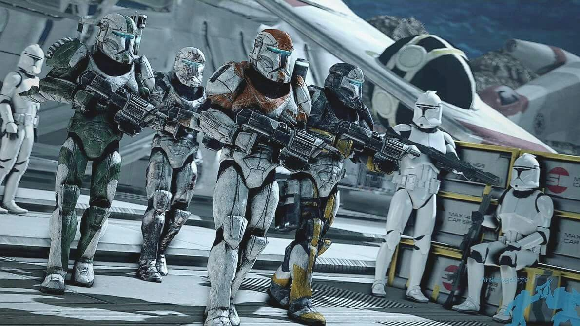 Clone Commandos Were Trained By Mandalorian Sargents Star