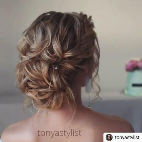 Impresionantes ideas de peinado de graduación en 2019 – #Peinado #Ideas #noche #Prom #Stunning