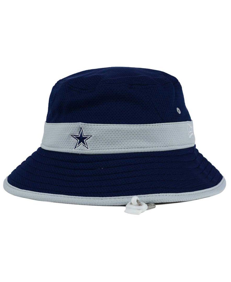 New Era Dallas Cowboys Training Camp Reverse Bucket Hat  201f02f0c