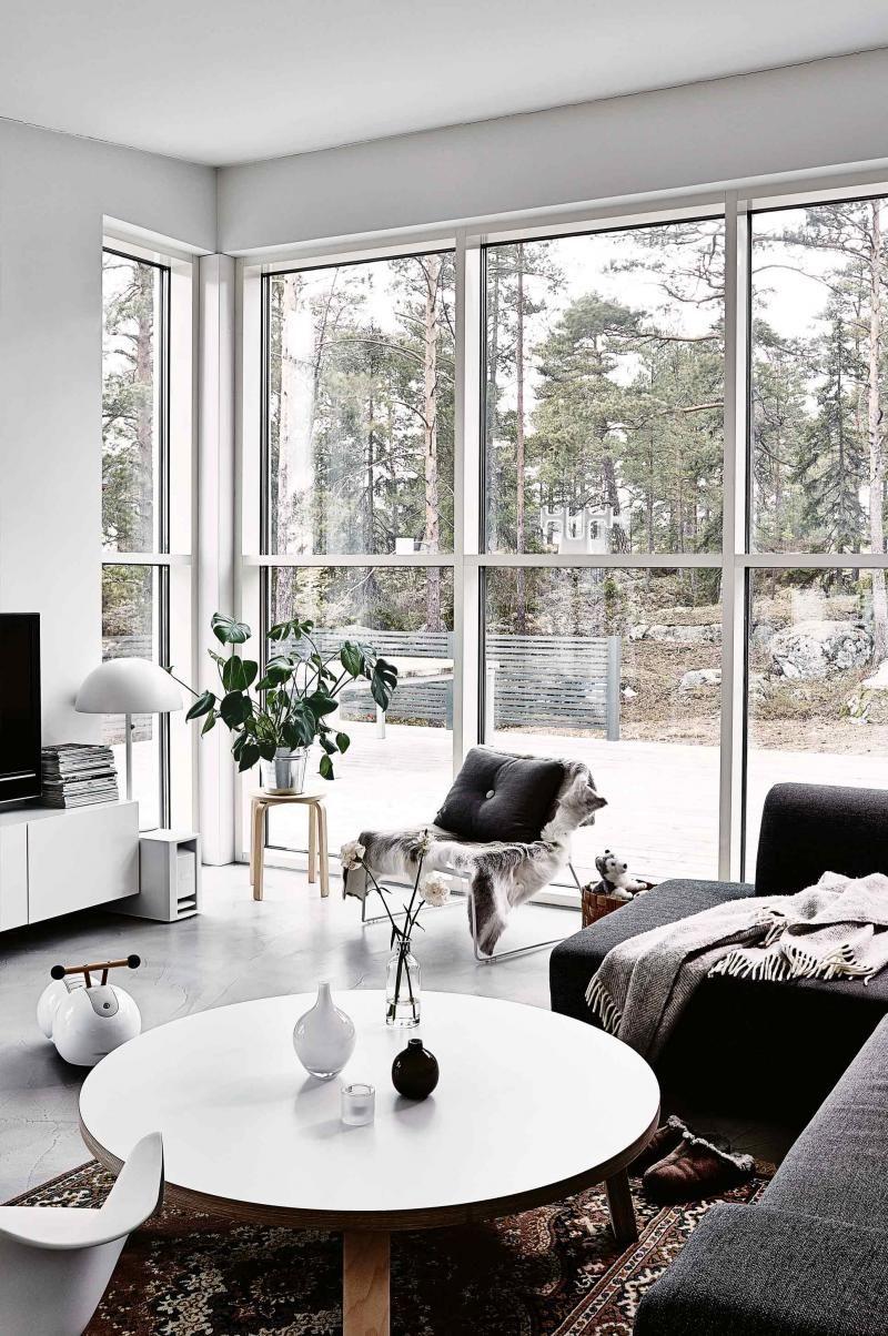 living-room-cosy-white-grey-aug15 | interiors | Pinterest | Cosy ...