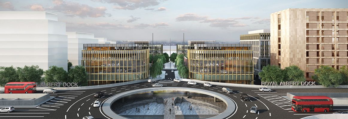 Royal Albert Dock to become London's next business district – a place to work, live and enjoy Proposals will create up to 20,000 new jobs 1km of waterfront to be opened up to the community for the first time and deliver new cafes, restaurants and public squares - http://www.royal-albert-dock.com/news/