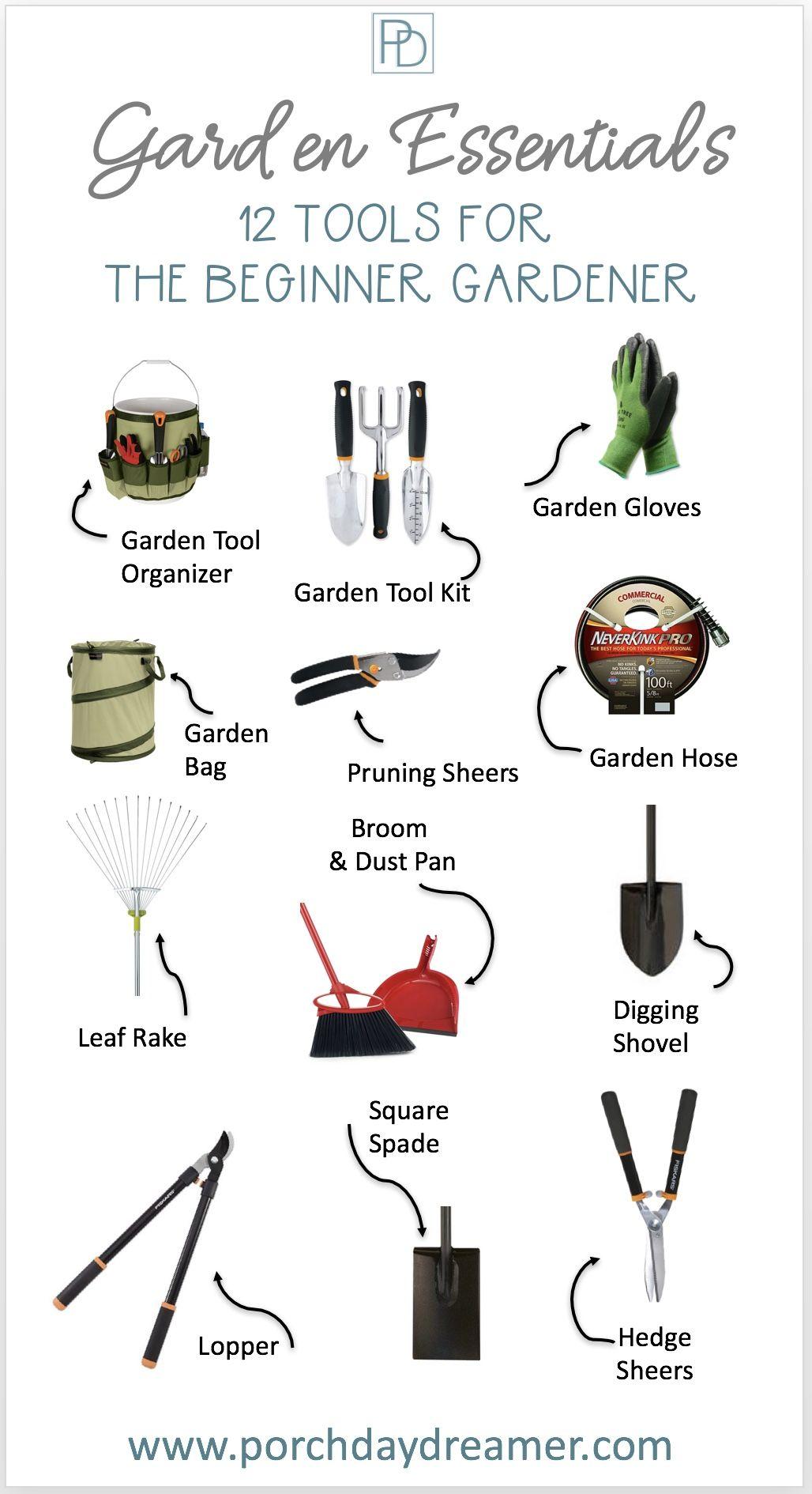 12 Essential Garden Tools For The Beginner Garden Tools