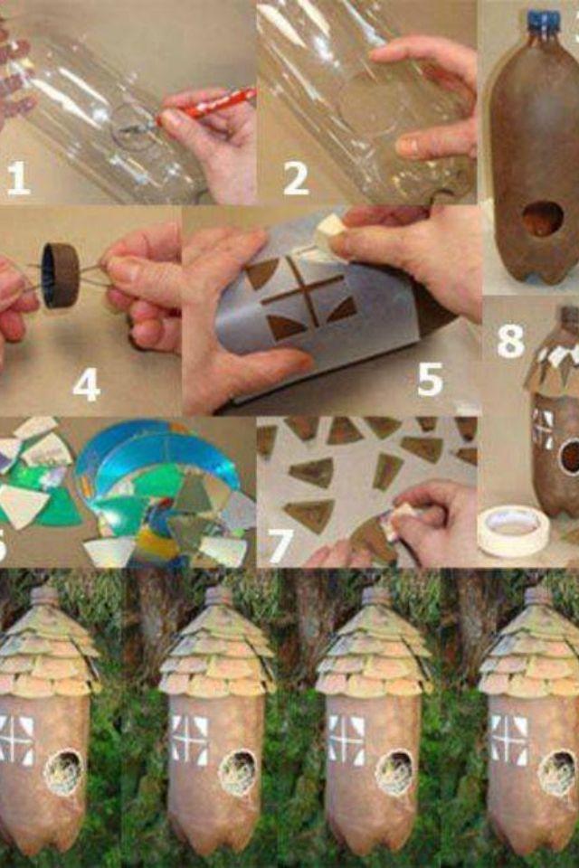 Fantastic 2 Liter Bottle Project Bird Houses Diy Diy Plastic Bottle Crafts