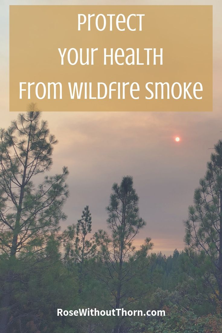 Protect Your Health from Wildfire Smoke RoseWithoutThorn