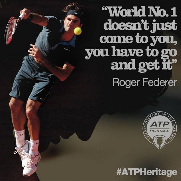 Pin by K Falk on my faves Roger federer quotes, Roger