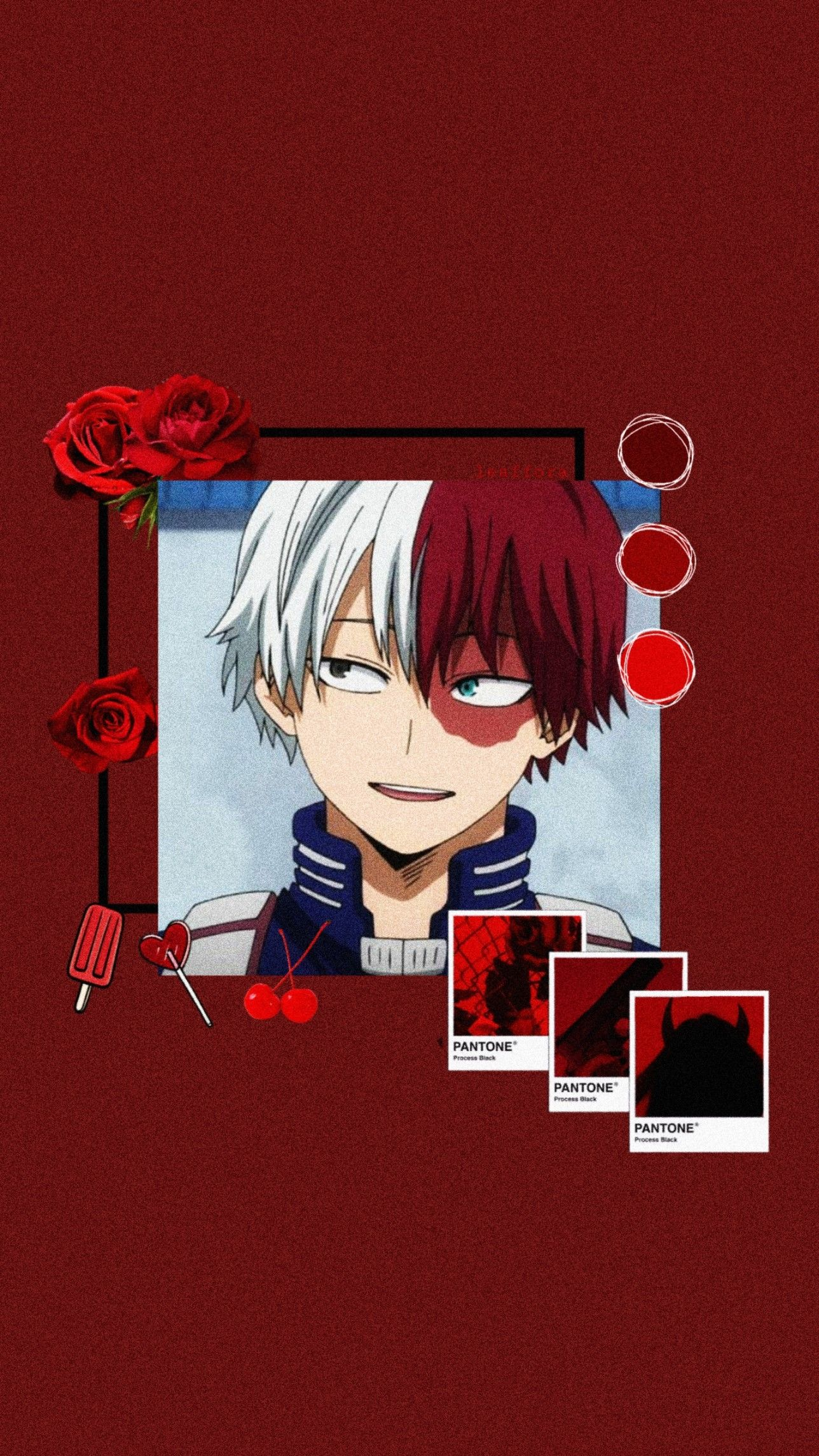 Todoroki Shoto Bnha Aesthetic Anime Wallpaper In 2020 Anime Wallpaper Aesthetic Anime Cool Anime Wallpapers