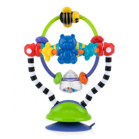high chair suction toys cute desk nuby silly spinwheel the in an interactive toy it has a base so can be used on highchair or flat table surfact
