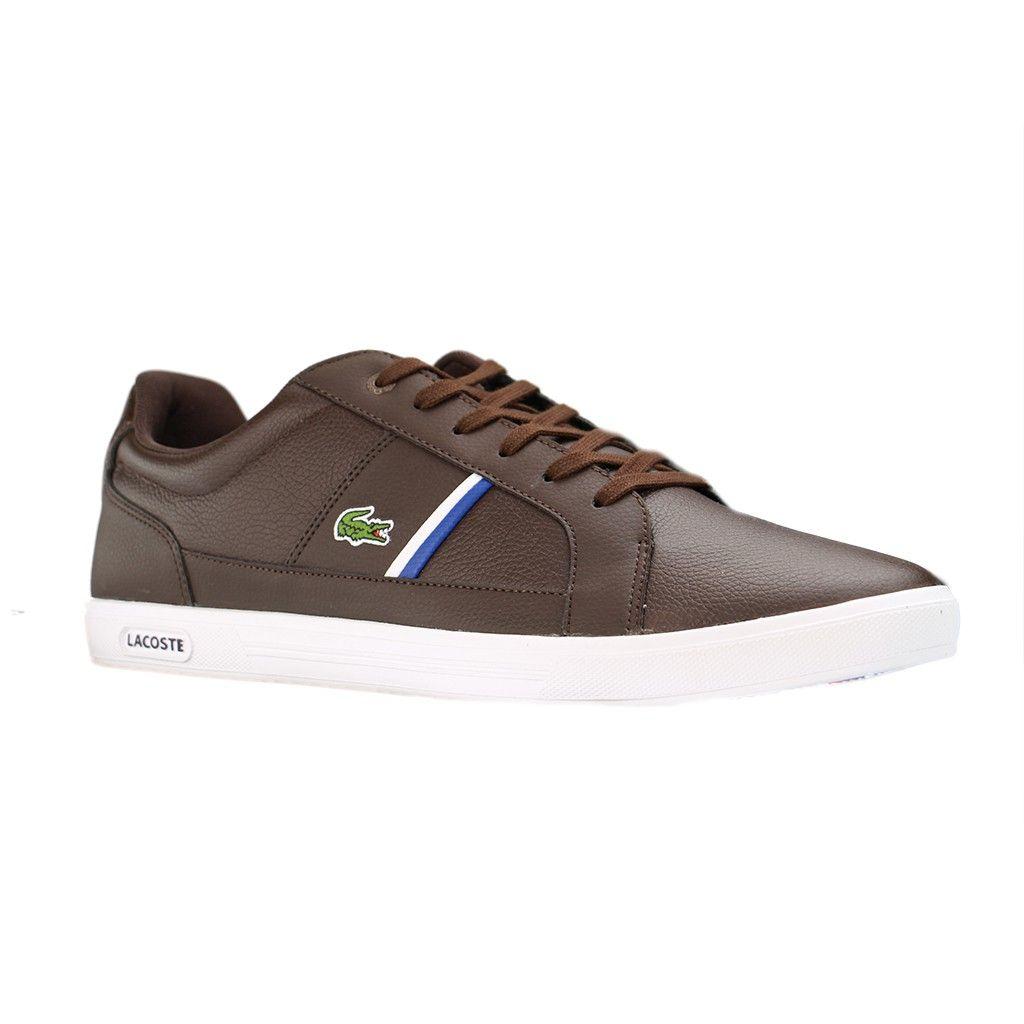 newest collection 3d693 c42c4 LACOSTE - 7-30SPM0008DB2 - Herren Sneakers - Braun XXL ...