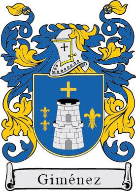 Gimenez Family Crest Escudo De Armas Apellidos Escudo De Armas Escudo
