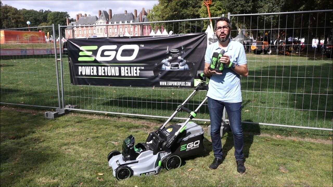 Iseki France Nicolas Rouchit Tondeuse A Batterie Tractee Ego Power Batterie France Petites Annonces Gratuites