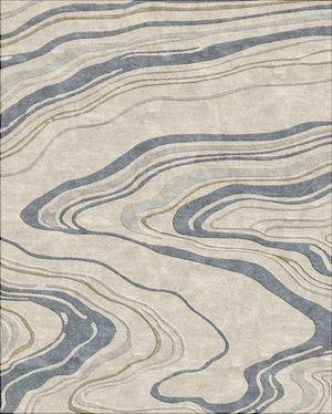 Haiku I River Taupe Patterned Carpet Textured Carpet