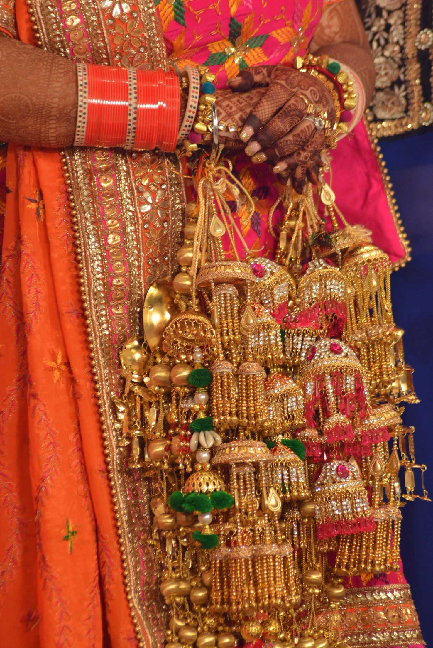 Tried Diffe Colours Bridal Churawedding