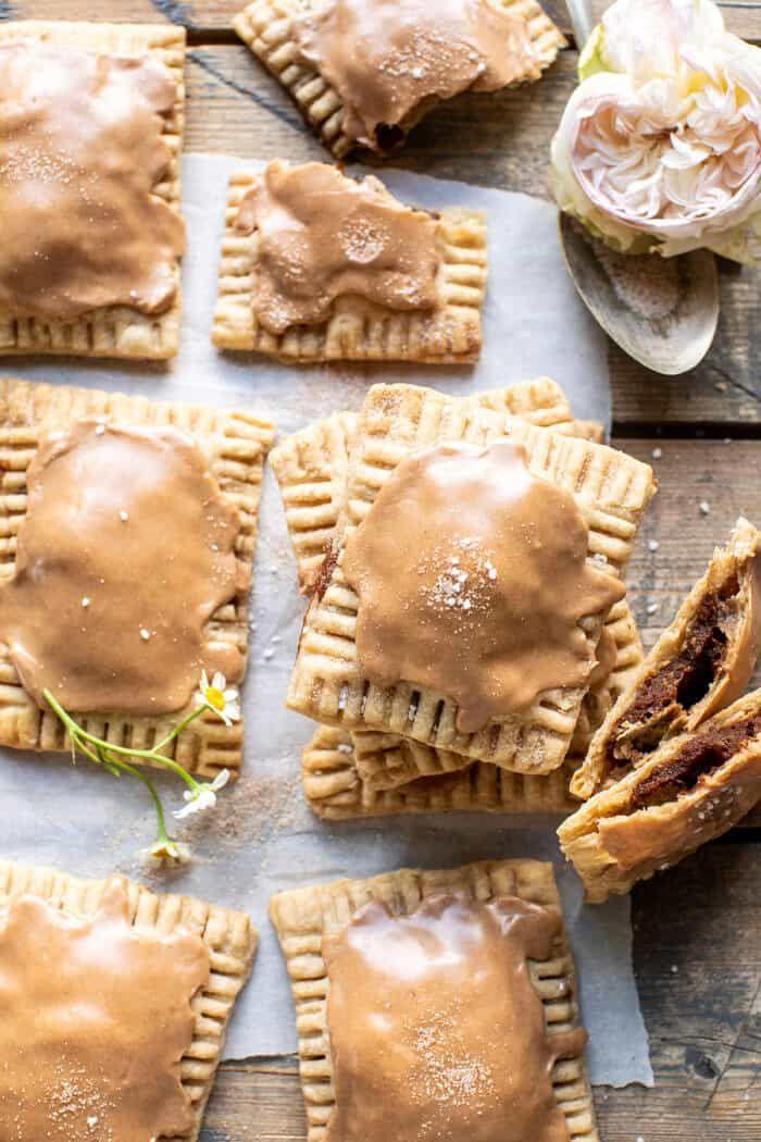 Homemade Frosted Brown Sugar Cinnamon Pop Tarts. - Half Baked Harvest